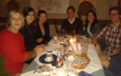 Essen mit dem Carnuntum Team